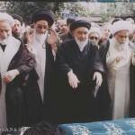 نماز بر پیکر مطهر